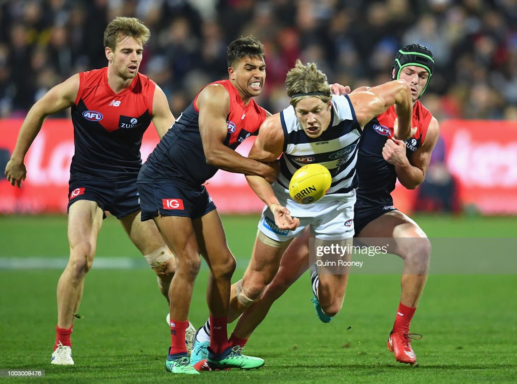 AFL Rd 18 - Geelong v Melbourne