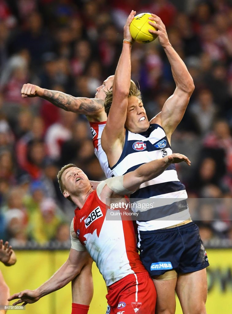 AFL 2nd Semi Final - Geelong v Sydney