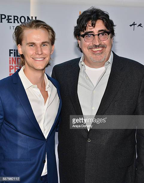 Rhys Wakefield and Alfred Molina attend the 2016 Los Angeles Film Festival 'Paint It Black' premiere at LACMA on June 3 2016 in Los Angeles California