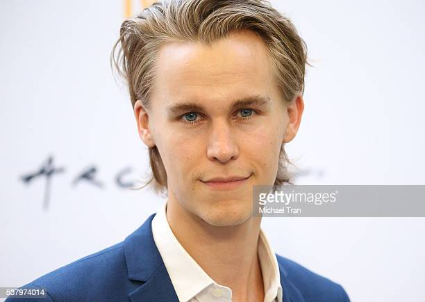 Rhys Wakefield arrives at the LA Film Festival premiere of Tangerine Entertainment's 'Paint It Black' held at Bing Theater At LACMA on June 3 2016 in...