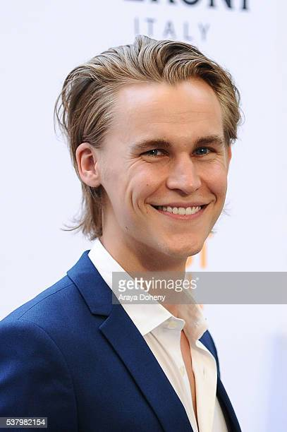 Rhys Wakefield attends the 2016 Los Angeles Film Festival 'Paint It Black' premiere at LACMA on June 3 2016 in Los Angeles California