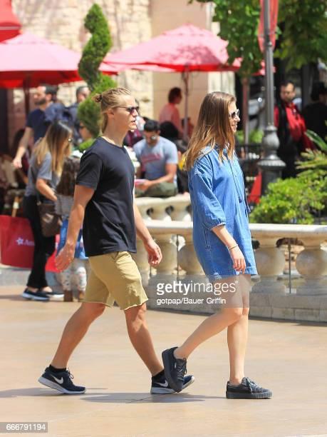 Rhys Wakefield is seen on April 09 2017 in Los Angeles California