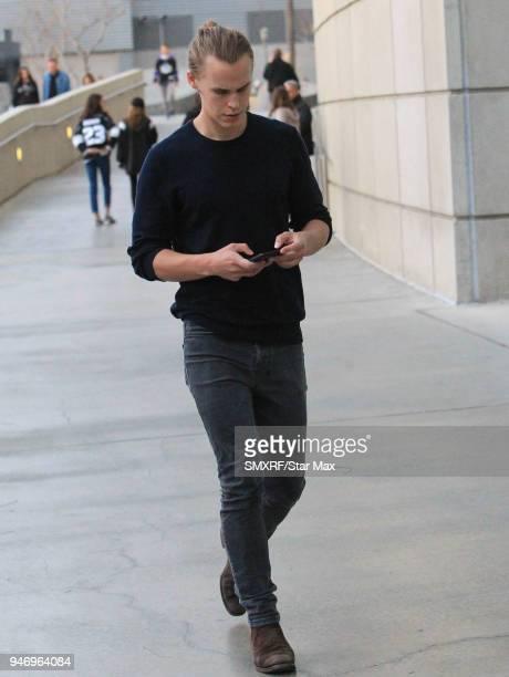 Rhys Wakefield is seen on April 15 2018 in Los Angeles CA