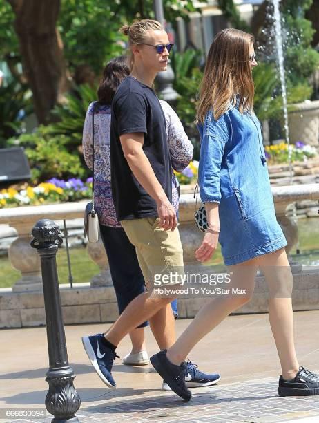 Rhys Wakefield is seen on April 9 2017 in Los Angeles CA