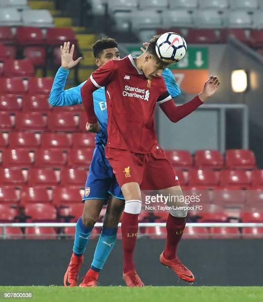 Tyreece John Jules Wallpaper: Liverpool U18 V Arsenal U18 Fa Youth Cup Fourth Round