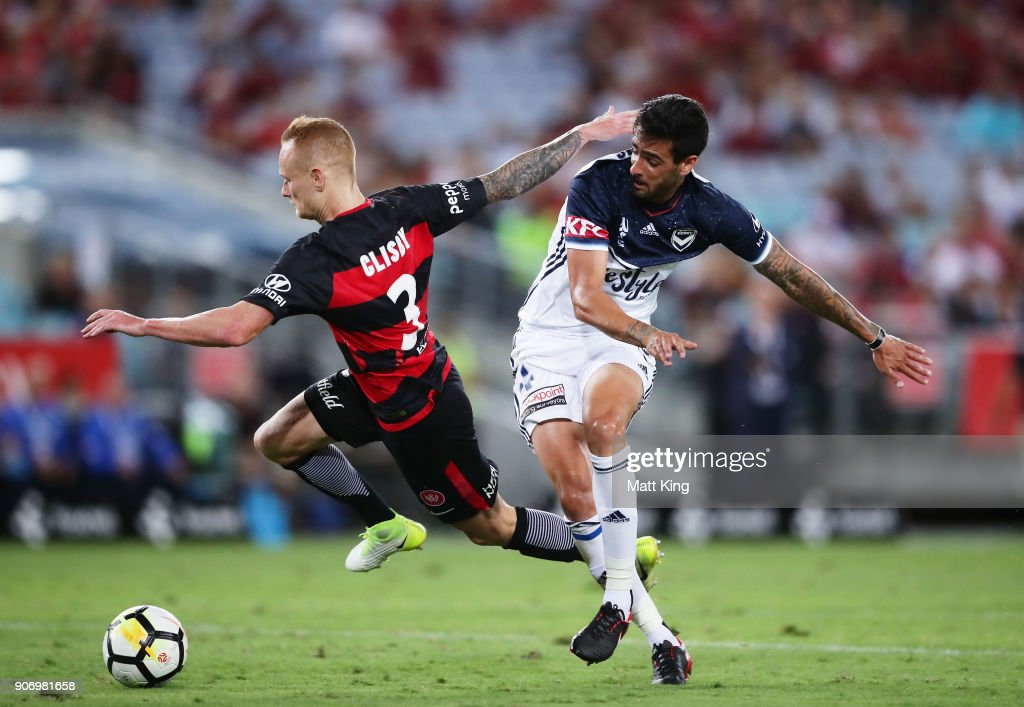 A-League Rd 17 - Western Sydney v Melbourne Victory