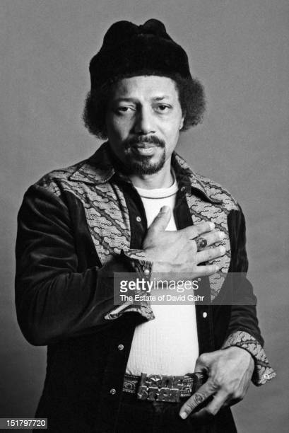 Rhythm and blues musician and member of the Nveille Brothers Charles Neville poses for a portrait on March 17, 1981 in New York City, New York.