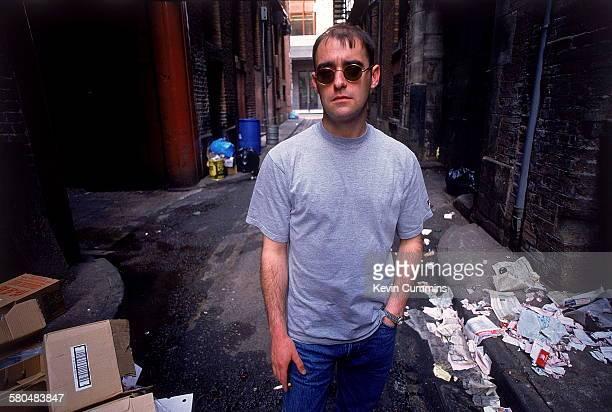Rhythm guitarist Paul 'Bonehead' Arthurs, of Manchester rock band Oasis, 2nd August 1994.