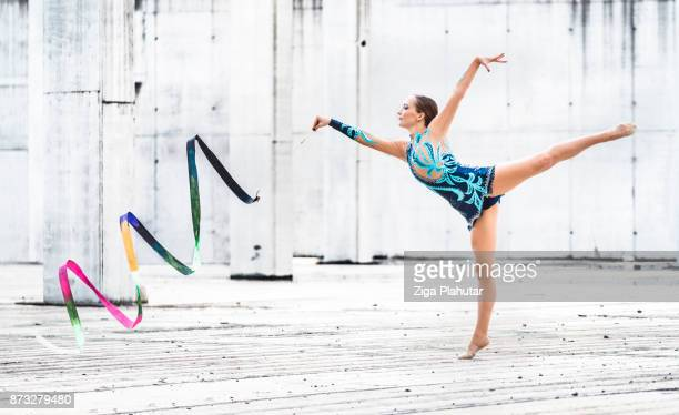 rhythm is my passion - show girl stock photos and pictures