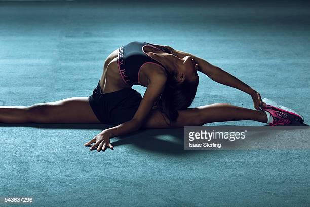 USA Rhythmic Gymnast Stasya Generalova is photographed for XOXO The Mag on November 11 2015 in Los Angeles California