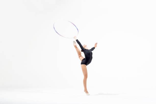 GR, GRS, rhythmic gymnastics in studio
