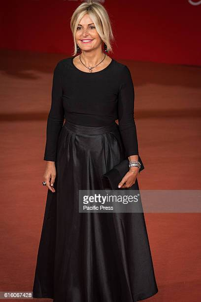 Ria Antonella Splendore walk the red carpet honoring Gregory Peck during the 11th Rome Film Festival in Rome Italy