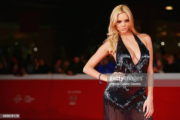 Ria Antoniou attends a red carpet for 'Sport' during the 10th Rome Film Fest on October 23 2015 in Rome Italy