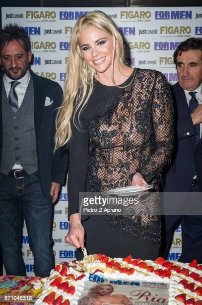 Ria Antoniou attends For Men Magazine 2018 calendar presentation on November 6 2017 in Milan Italy
