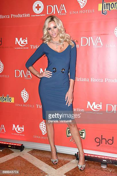 Ria Antoniou attends the Diva Donna Party during the 73rd Venice Film Festival at Centurion Hotel on September 7 2016 in Venice Italy