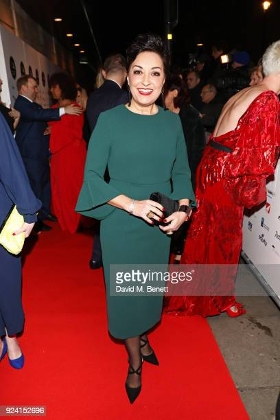 Ria Jones attends the 18th Annual WhatsOnStage Awards at the Prince Of Wales Theatre on February 25 2018 in London England