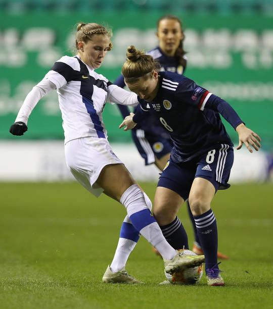GBR: Scotland Women v Finland Women - UEFA Women's EURO 2022 Qualifier