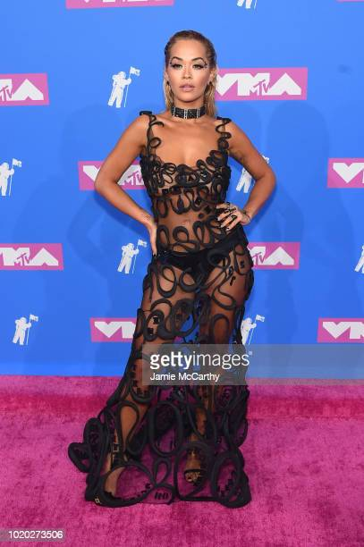 Ria Ora attends the 2018 MTV Video Music Awards at Radio City Music Hall on August 20 2018 in New York City