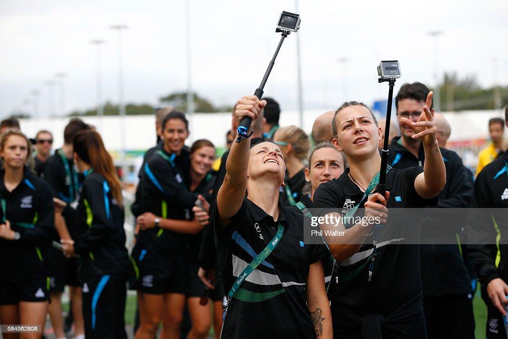 New Zealand Olympic Team Media Access