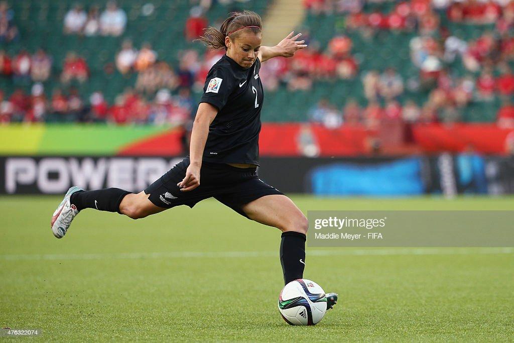New Zealand v Netherlands: Group A - FIFA Women's World Cup 2015