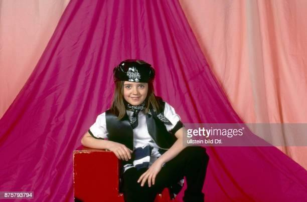 Ria Schenk als Kinderstar Sängerin der Band 'Eisblume' Fotoshooting für CDCover und PR