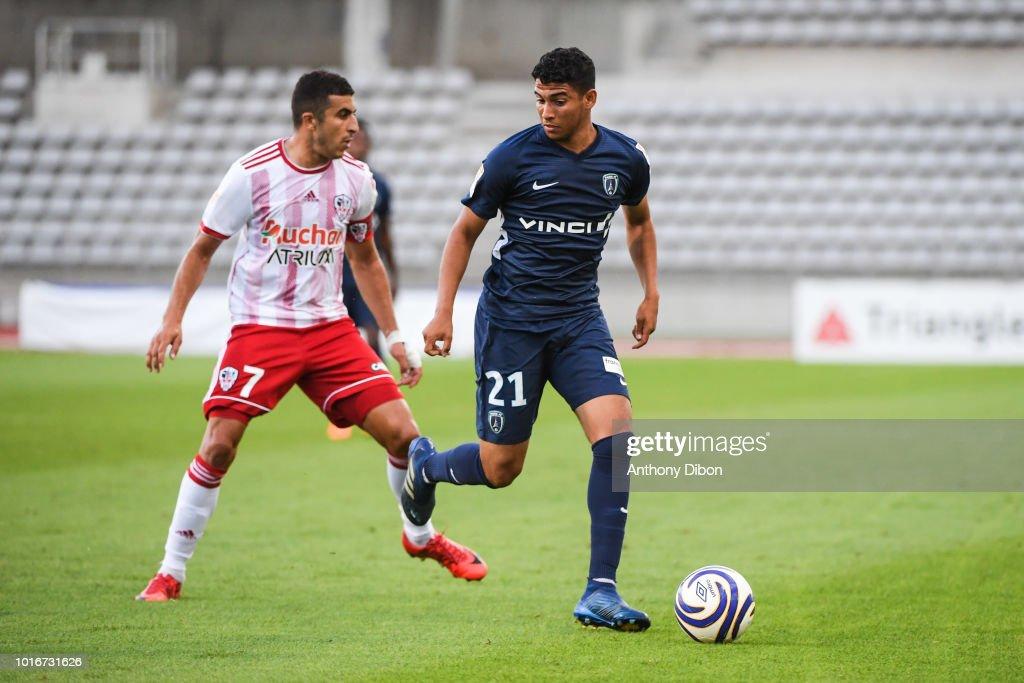 Paris FC v AC Ajaccio - League Cup