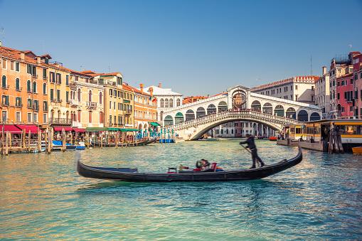Rialto Bridge in Venice 516649936