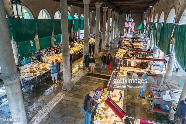 Rialto, fish market