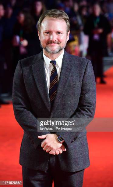 Rian Johnson attending the European premiere of Knives Out held as part of the BFI London Film Festival 2019 at the Odeon Luxe Leicester Square in...
