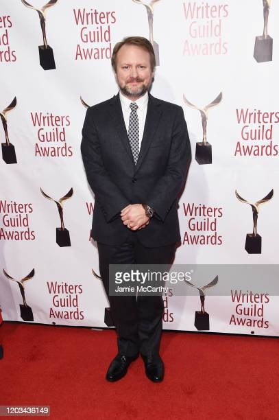 Rian Johnson attends the 72nd Writers Guild Awards at Edison Ballroom on February 01 2020 in New York City