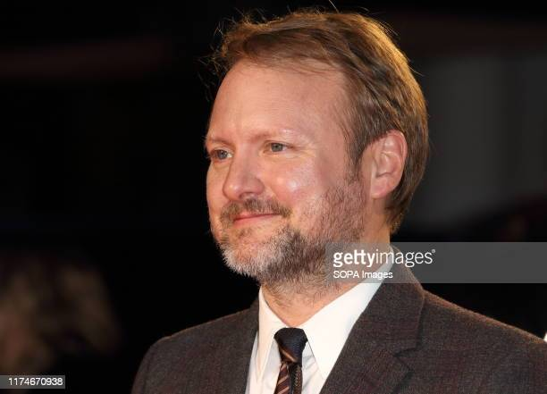 Rian Johnson attends The BFI 63rd London Film Festival American Express Gala screening of 'Knives Out held at the Odeon Luxe Leicester Square in...