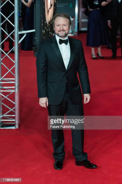 Rian Johnson attends the EE British Academy Film Awards ceremony at the Royal Albert Hall on 02 February, 2020 in London, England.- PHOTOGRAPH BY...