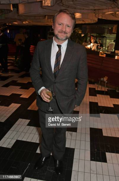 Rian Johnson attends the European Premiere after party for Knives Out during the 63rd BFI London Film Festival at Sushi Samba Covent Garden on...