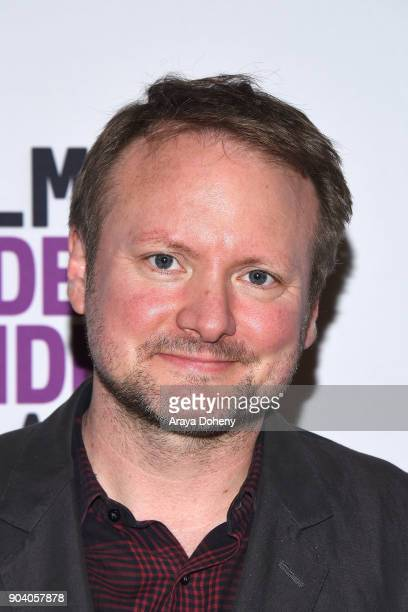 Rian Johnson attends the Film Independent at LACMA presents an evening with Rian Johnson at LACMA on January 11 2018 in Los Angeles California