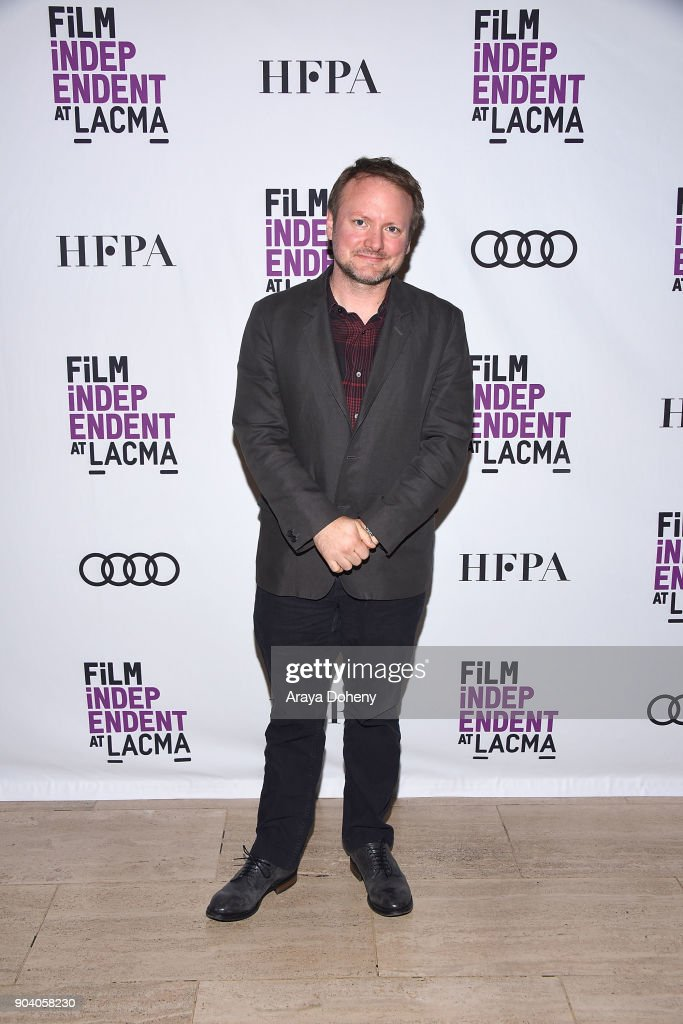 Rian Johnson attends the Film Independent at LACMA presents an evening with Rian Johnson at LACMA on January 11, 2018 in Los Angeles, California.