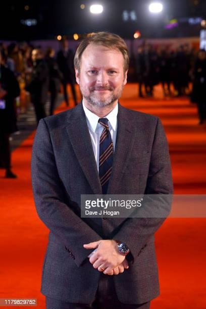 Rian Johnson attends the Knives Out European Premiere during the 63rd BFI London Film Festival at the Odeon Luxe Leicester Square on October 08 2019...