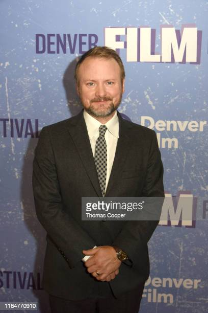 Rian Johnson director of KNIVES OUT and recipient of the 2019 John Cassavetes Award on the red carpet during the 42nd Annual Denver Film Festival on...