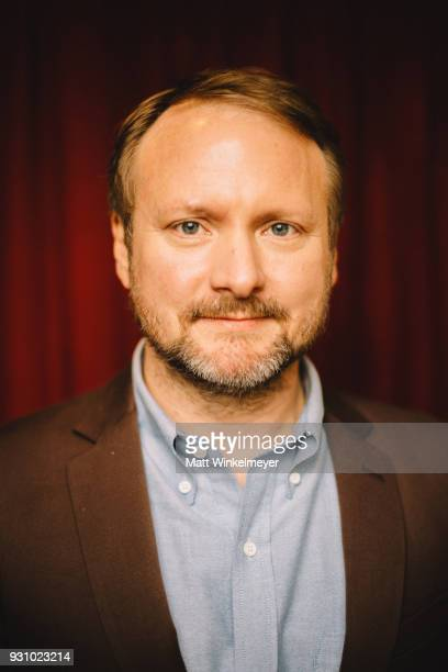Rian Johnson poses for a portrait at the The Director and The Jedi Premiere 2018 SXSW Conference and Festivals at Paramount Theatre on March 12 2018...