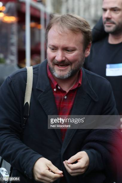 Rian Johnson seen leaving Global Radio studios on March 19 2018 in London England