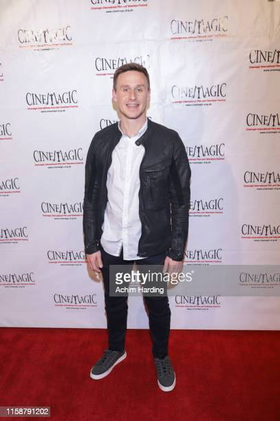 Rian Sheehy Kelly attends the 30th Anniversary Of The CineMagic Charity Gala at The Fairmont Miramar Hotel & Bungalows on June 27, 2019 in Santa...
