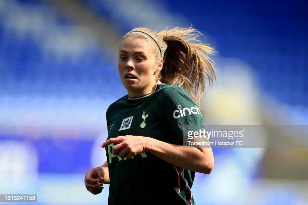 Rianna Dean of Tottenham Hotspur during the Vitality Women's FA Cup Fourth Round match between Reading Women and Tottenham Hotspur Women at Madejski...