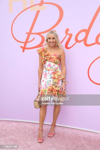 Rianna Ponting attends Oaks Day at Flemington Racecourse on November 07, 2019 in Melbourne, Australia.