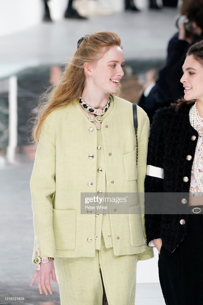Chanel : Runway - Paris Fashion Week Womenswear Fall/Winter 2020/2021 : News Photo