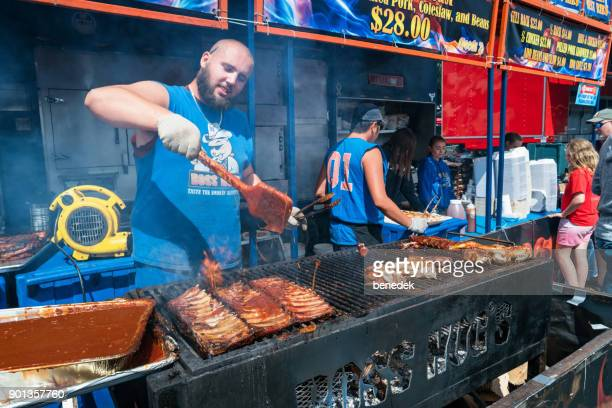 Rib festival barbecue