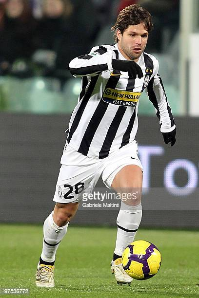 Ribas Da Cunha Diego of Juventus FC in action during the Serie A match between at ACF Fiorentina and Juventus FC at Stadio Artemio Franchi on March 6...