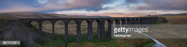 Ribblehead Viaduct - Aerial Panorama