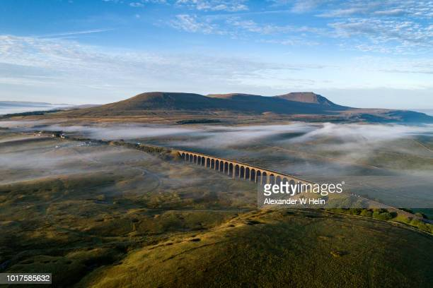 ribblehead viaduct - north yorkshire stock pictures, royalty-free photos & images