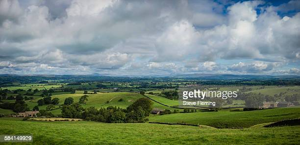 Ribblesdale in north west England