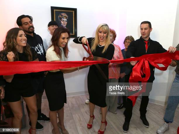 Ribbon cutting at Debbie Reynolds Legacy Studios Grand Opening at Debbie Reynolds Legacy Studios on February 10 2018 in North Hollywood California