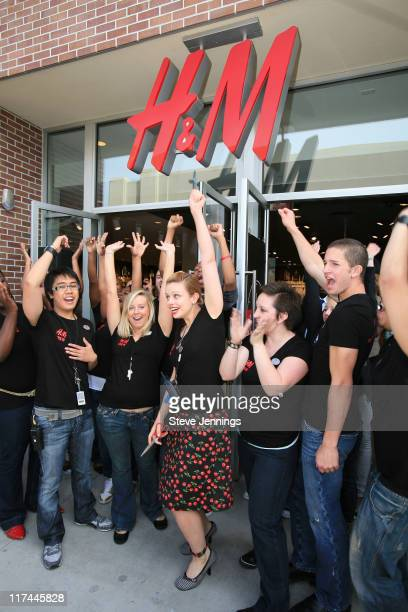 Ribbon Cutting at H&M Store Opening during H&M Store Opening in Emeryville, California - April 5, 2007 at BayStreet Shopping Center in Emeryville,...